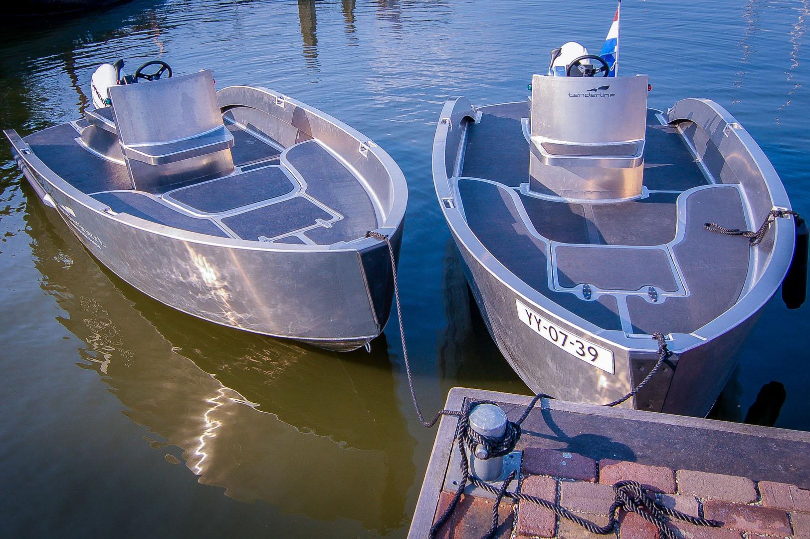 Wonderbaar Tenderline   Onbezorgd Varen   Aluminium boten TA-75